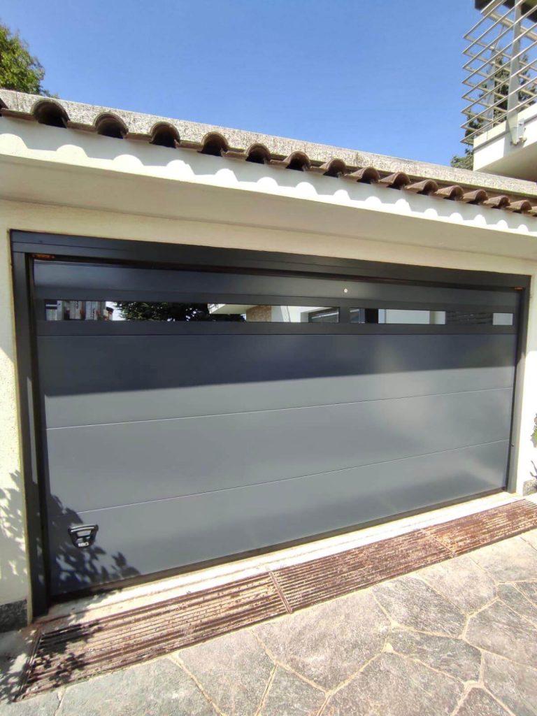 porta garage monodoga tipo finestrato