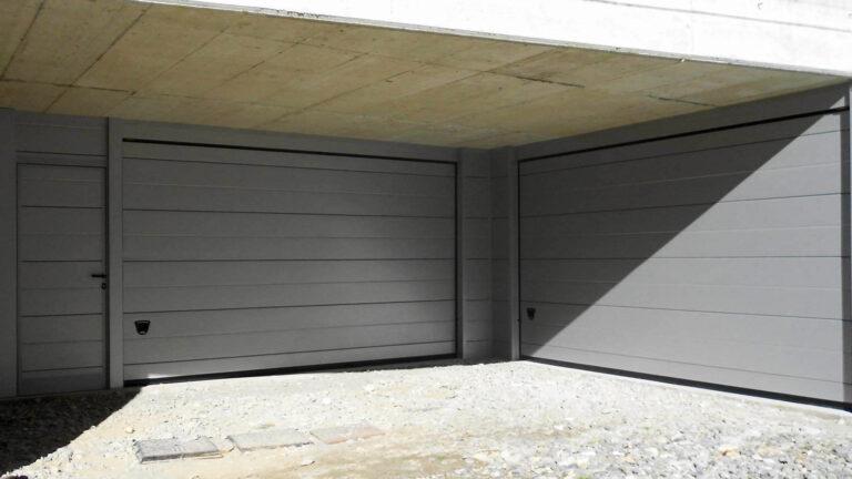 portone sezionale per garage su misura per ristrutturazione - BBG